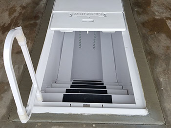 Metal Drop In Storm Shelters